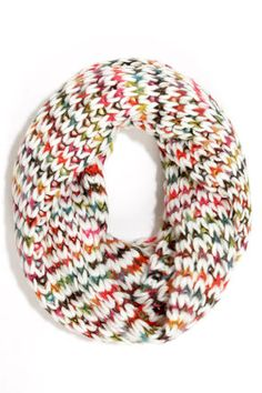 Never have to many scarves! Confetti Kaleidoscope Rainbow Infinity Scarf at LuLus.com!