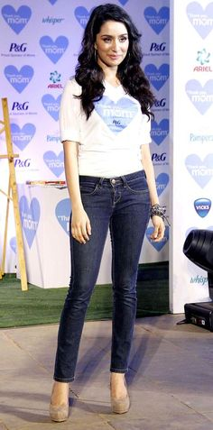 Shraddha Kapoor at a Mother's Day event. #Bollywood #Fashion