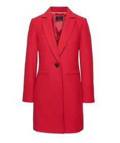 Red coat outfit ideas are a favorite for every fashion girl in the winter. Build a capsule wardrobe filled with basic items every woman needs in her closet Red Coat Outfit, Jackets For Women, Clothes For Women, Business Casual Outfits, Weekend Wear, Vest Jacket, Banana Republic, Girl Fashion, How To Wear