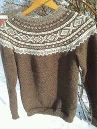 Johnstons sweater driftwood