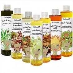 Achat d'huiles végétales pour cheveux crépus, frisés, secs - Naturafro