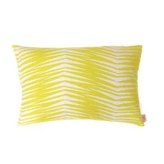 'Fronds' pillow case by Skinny laMinx. Gorgeous on its own and paired with other contrasting covers. See our full selection in the Skinny laMinx store at 201 Bree Street, Cape Town and online.