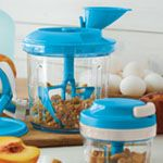 Your new personal chef  Quickly and easily prepare recipes with a seriously up-to-date culinary solution. Our newly designed, most efficient food processor blends, mixes, emulsifies and chops with the easy pull of a cord. It also cleverly integrates with the Chop 'N Prep Chef.