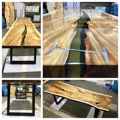 Live edge dining table MADE TO ORDER