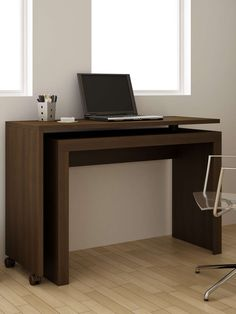 Innovative Calabria Nested Desk by Manhattan Comfort at Gilt