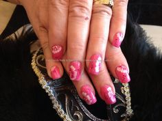 eye candy Nails & Training - Nails Gallery: One stroke nail art by Elaine Moore on 20 October 2012 at 14:15