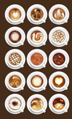 Diseño en las tazas de café