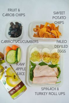 Health food for the girl on the go. AMazing lunch and snack ideas that are gluten free and paleo! Not to mention jam packed with protein, fruits, and veggies and are super easy and tasty!