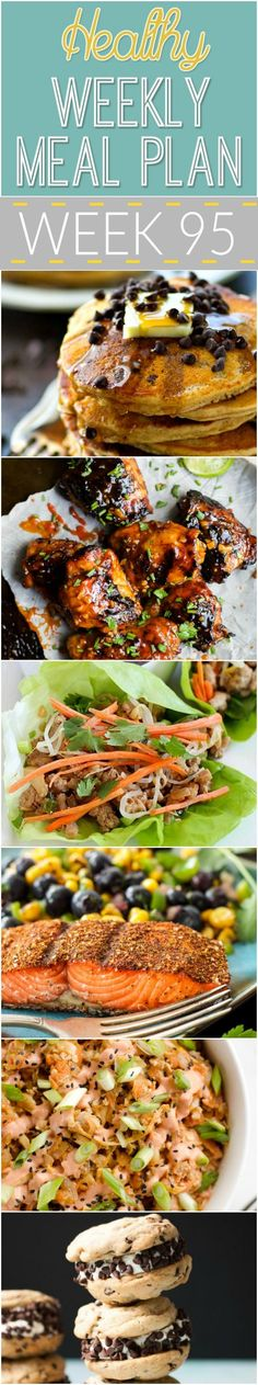 A delicious mix of healthy entrees, snacks and sides make up this Healthy Weekly Meal Plan for an easy week of nutritious meals your family will love! Healthy Weekly Meal Plan, Aldi Meal Plan, Healthy Low Calorie Meals, Meal Prep Plans, Healthy Menu, Easy Meal Prep, Diet Meal Plans, Nutritious Meals, Easy Healthy Recipes