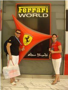 Ganhe uma viagem para ver a #Fórmula1 em Abu Dhabi!