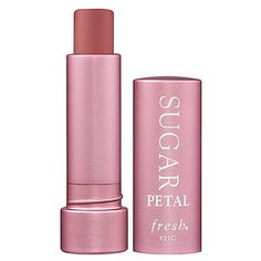Fresh Sugar Lip treatment SPF15 Petal: MLBB colour that smells,looks, and feels amazing!