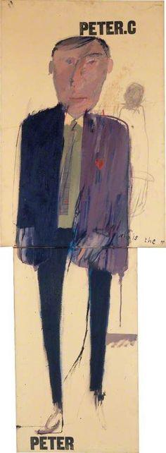 David Hockney Peter c1961