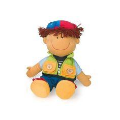 Bambolotto Davide  Con  il bambolotto Davide si impara come maneggiare le diverse chiusure degli indumenti!