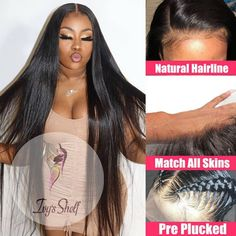 28 30 40 Inch Lace Front Bone Straight Brazilian Human Hair Wigs With Pre Plucked Hair Price: 57.40 & FREE Shipping #hashtag2 Remy Human Hair, Remy Hair, Human Hair Wigs, Wig Hairstyles, Straight Hairstyles, Medium Brown Hair, Straight Lace Front Wigs, Air Dry Hair, Body Wave Hair