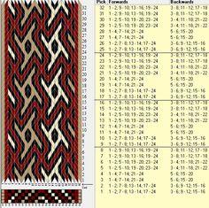 24 tarjetas, 4 colores, repite cada 8 movimientos // sed_494 diseñado en GTT༺❁