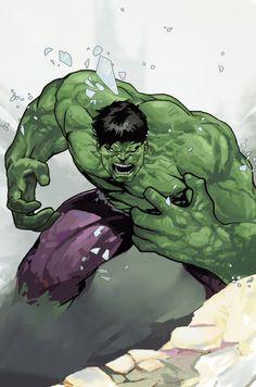 Fuck Yeah! Comics, cyberclays:   Hulk - fan art by Dave Seguin