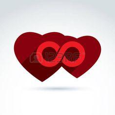 ewigkeit: Vector unendlich Symbol. Illustration einer Ewigkeit Symbol auf einem…