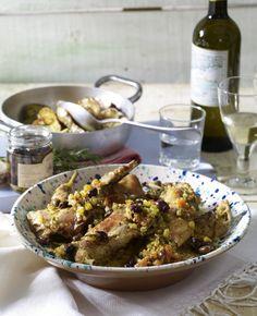 Unser beliebtes Rezept für Coniglio al vino bianco (Kaninchen in Weißwein) und mehr als 55.000 weitere kostenlose Rezepte auf LECKER.de.