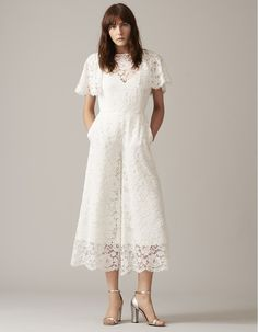 Whistles Wedding New Bridal Collection 2017 - Lace Bridal Jumpsuit