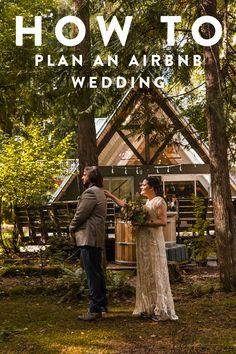 Creative Wedding Venues, Small Wedding Receptions, Intimate Wedding Reception, Elopement Reception, Wedding Reception Locations, Small Intimate Wedding, Elopement Ideas, Intimate Weddings, Log Cabin Wedding