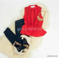 Get yours today at Modern Ego! Get 10% off your first purchase when you register with this link http://modernego.com?r=3529  #women #fashion #clothing