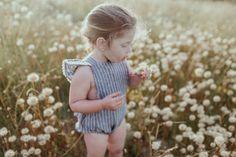 Ruffle Romper Petite Harper Collab #kidsfashion
