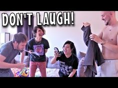 DON'T LAUGH CHALLENGE - ft Akidearest, The Anime Man, and Misty Chronexia - YouTube