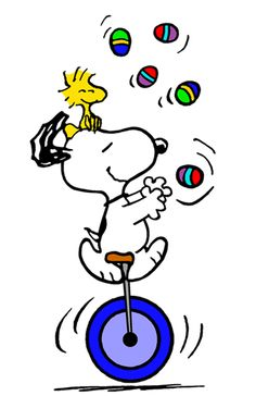 Easter Egg Fun with Snoopy and Woodstock (smaller)
