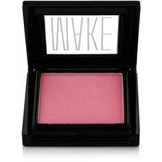 Make Beauty Satin Finish Powder Blush – Geisha ($25) ❤ liked on Polyvore featuring beauty products, makeup, cheek makeup, blush, pink, powder blush and make blush