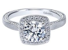 Division: Gabriel Bridal Category: Engagement Ring Collection: Contemporary Style: Halo Diamond Quality: D4 Diamond Total: 0.14 ct Gold Total: 3.75 g Metal Type: 14k White Gold Head Shape: Round Head Size: 6.5 mm Head Size Range: N/C Width: 10.23 mm Thickness: 5.23 mm Bandwidth: 2.43 mm Size: 6.50 Style # ER10914W44JJ $1065 https://bridal.gabrielny.com/product/ER10914W44JJ
