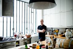 Room to Cook - David Lebovitz, a food blogger and bestselling author, stands in the light-filled - The New York Times