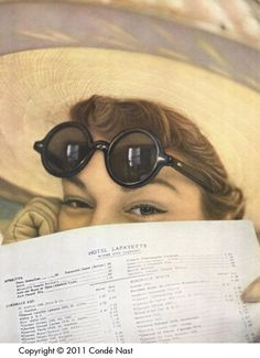 Vogue (01 May 1949) #sunglasses in #magazines