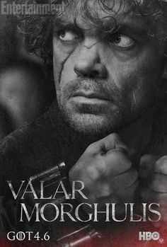 Tyrion Lannister Season Four Poster for Game of Thrones