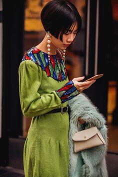 #Streetstyle: LYFW Otoño-Invierno 2018 - London Fashion Week, Otoño - Invierno 2018 | Galería de fotos 37 de 83 | VOGUE