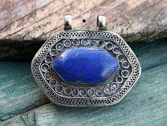 Prachtige handgemaakte Afghaanse amulet - look4treasures on Etsy, $28.95