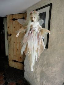 Fairy visit to the cottage ~~ (New doll from Wendy Froud posted on her blog…