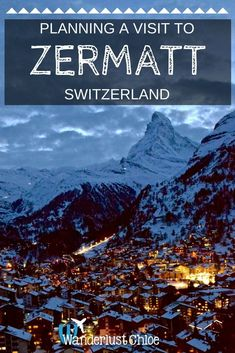 Plan your visit to Zermatt, Switzerland. Top Things To Do In Zermatt Switzerland. Zermatt's relaxing spas, top restaurants, stunning views and great activities mean there are plenty of great things to do!