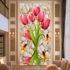 5d diamond painting cross stitch diamond embroidery tulips picture diamond mosaic art rose flowers wedding decoration #Affiliate