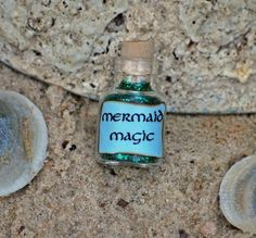 mermaid magic - I'll make one of these for my daughter some day to sprinkle when she's having a bad day.