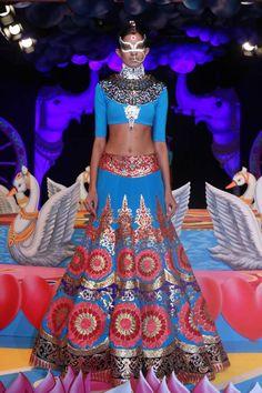 Manish Arora's Insane Neon Collection at PCJ Delhi Couture Week 2013