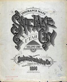 Salt Lake City Sanborn Map, 1898 | Source: The University of Utah's digital library