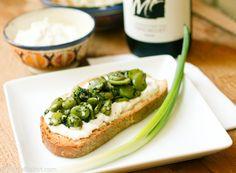 labne idea! way healthier than cream cheese