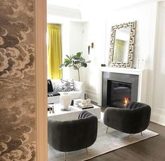 A special shout out to our LOVEly customers. Featured here are our Chaplin chairs in the stunning home of @erikaveh