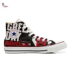 Make Your Shoes Converse Customized Adulte - chaussures coutume (produit artisanal) Damask Paisley size 34 EU JjoN4Og