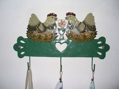 A touch of country-cloth holder