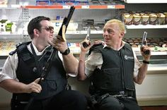 hot fuzz / shaun of the dead.
