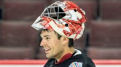 World-beater? Team Canada goalie Carey Price is looking just as good as he did…
