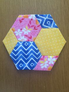 The New Hexagon by Katja Marek block 1 Marie