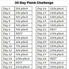 30 DAY PLANK CHALLENGE!!! Are you in? Post shows proper plank form and benefits of planking  http://donnalewisfitness.com/30-day-plank-challenge/ #30daychallenge #workoutchallenge #plank