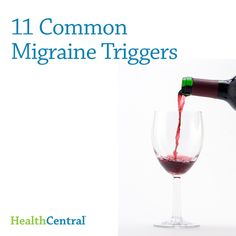 11 common migraine triggers.